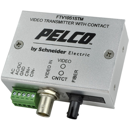 Pelco FTV10M1STM Multimode Miniature Fiber Transmitter