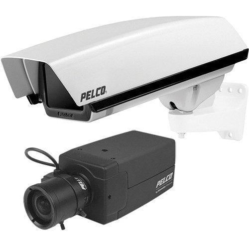 Pelco G1512-2-PJ-R75A-D Analog Day/Night WDR Camera System (NTSC)