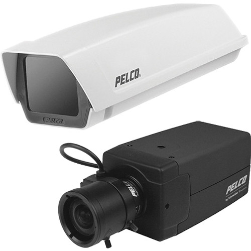 Pelco G1512-3-PJ-V21A Analog Day/Night WDR Camera System (NTSC)