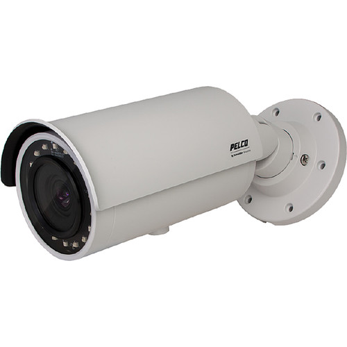 Pelco Sarix IBP Series IBP124-1R 1MP Outdoor Network Bullet Camera with Night Vision & 12-40mm Lens