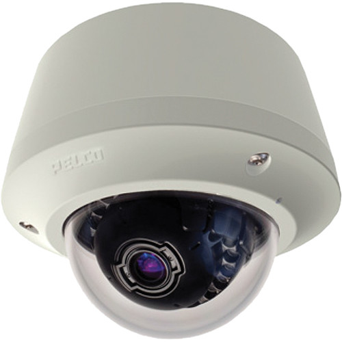 Pelco Sarix IME Series IME119-1EP 1MP Pendant Mount Environmental Day/Night Mini Dome IP Camera with 3 to 9mm Lens (Light Gray)