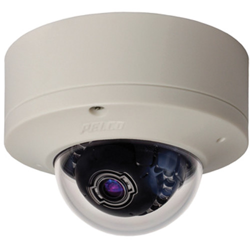 Pelco Sarix IME Series IME-119-1S 1MP Surface Mount Indoor Day/Night Mini Dome IP Camera with 3-9mm Lens (White)
