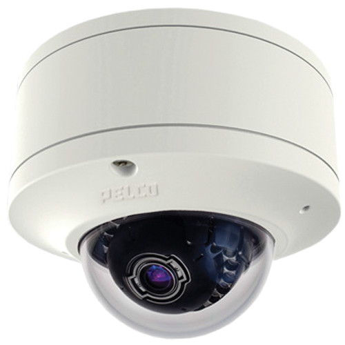 Pelco Sarix IME Series IME219-1P 2MP Pendant Mount Indoor Day/Night Mini Dome IP Camera with 3 to 9mm Lens (White)