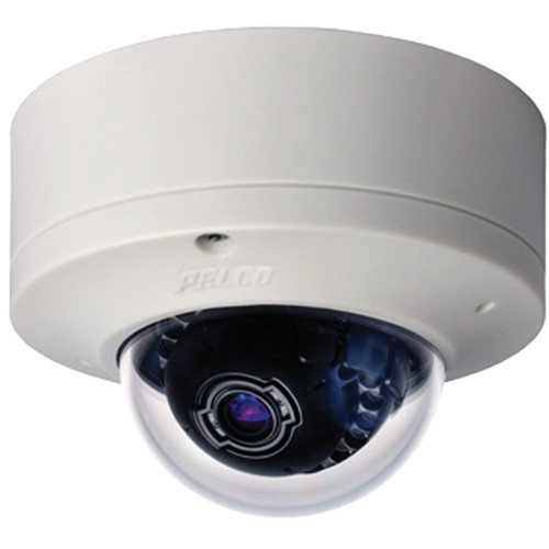 Pelco Sarix IME Series IME3122-B1S 3MP Surface Mount Indoor Day/Night Mini Dome IP Camera with 9 to 22mm Lens (Black)