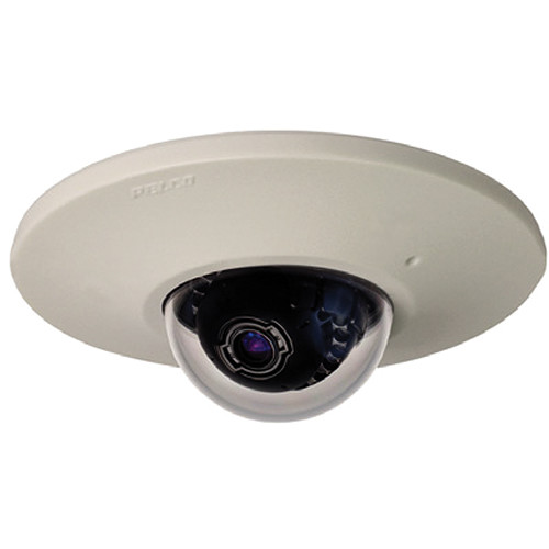 Pelco Sarix IME Series IMES19-1EI 0.5MP In-Ceiling Mount Environmental Day/Night Mini Dome IP Camera with 3 to 9mm Lens (Light Gray)