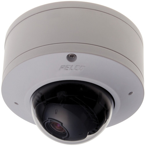 Pelco Sarix IME Series IMES19-1P 0.5MP Pendant Mount Indoor Day/Night Mini Dome IP Camera with 3 to 9mm Lens (White)
