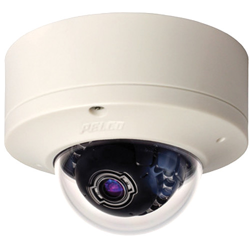 Pelco Sarix IME Series IMES19-1S 0.5MP Surface Mount Indoor Day/Night Mini Dome IP Camera with 3 to 9mm Lens (White)