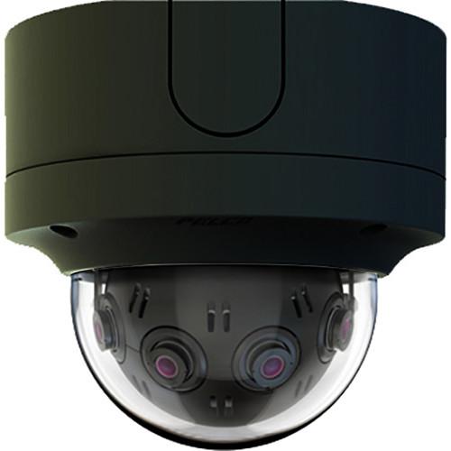 Pelco 12MP Optera IMM 180-Degree Indoor Vandal Surface Mini Dome Camera (Black)