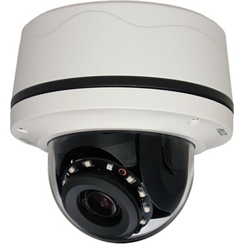 Pelco Sarix IMP Series IMP121-1ES 1MP Environmental Network Mini Dome Camera with 3-10.5mm Lens