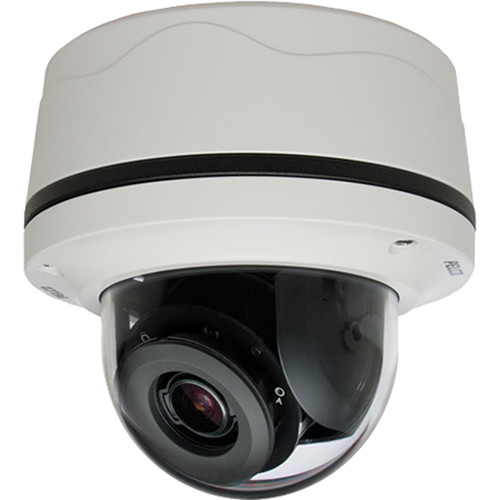 Pelco Sarix IMP Series IMP121-1IS 1MP Network Mini Dome Camera with 3-10.5mm Lens