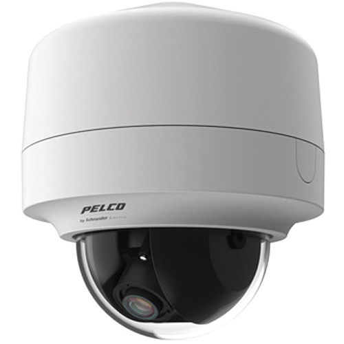 Pelco Sarix IMP Series IMP319-1P 3MP Day/Night Pendant Mount Indoor Mini Dome IP Camera with 3 to 9mm Lens (White)