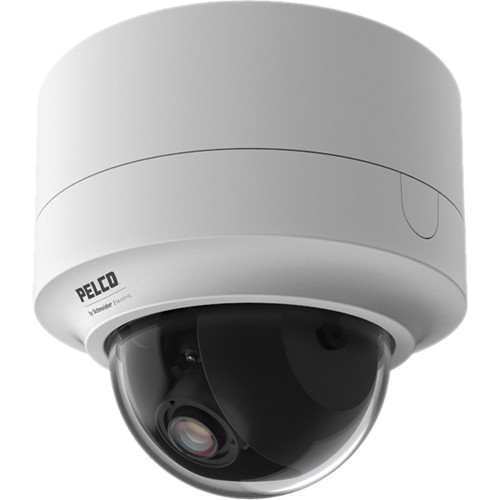 Pelco Sarix IMP Series IMP319-1S 3MP Day/Night Surface Mount Indoor Mini Dome IP Camera with 3 to 9mm Lens (White)