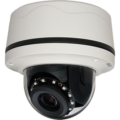 Pelco IMP321-1ES 3MP Outdoor Network Mini Dome Camera with Night Vision & Heater
