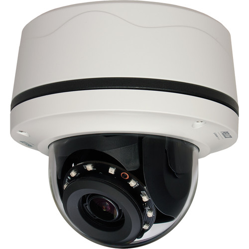 Pelco Sarix IMP 3MP Outdoor Network Dome Camera with 3-10.5mm Varifocal Lens & Night Vision