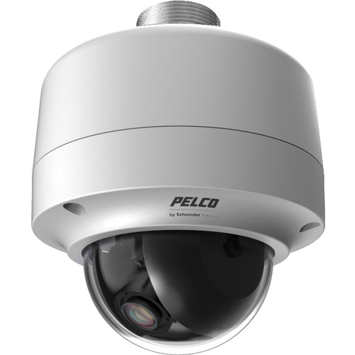 Pelco Sarix IMP Series IMP519-1EP 5MP Environmental Day/Night Pendant Mount Mini Dome IP Camera with 3 to 9mm Lens (Light Gray)