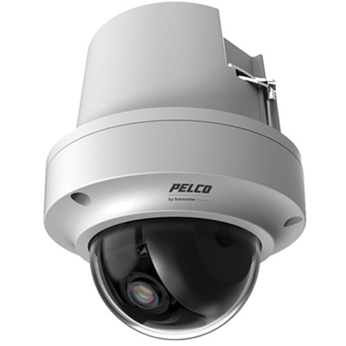 Pelco Sarix IMP Series IMPS110-1EI 0.5MP Environmental Day/Night In-Ceiling Mount Mini Dome IP Camera with 2.8 to 10mm Lens (Light Gray)