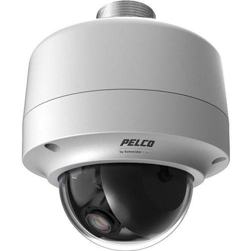 Pelco Sarix IMP Series IMPS110-1EP 0.5MP Environmental Day/Night Pendant Mount Mini Dome IP Camera with 2.8 to 10mm Lens (Light Gray)
