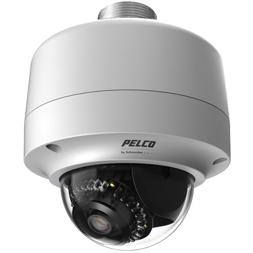Pelco Sarix IMP Series IMPS110-1ERP SD Day/Night Vandal Resistant Environmental Mini Dome IP Camera with 2.8 to 10mm Varifocal Lens (Light Gray)