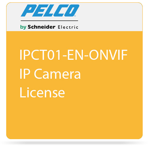 Pelco IPCT01-EN-ONVIF IP Camera License