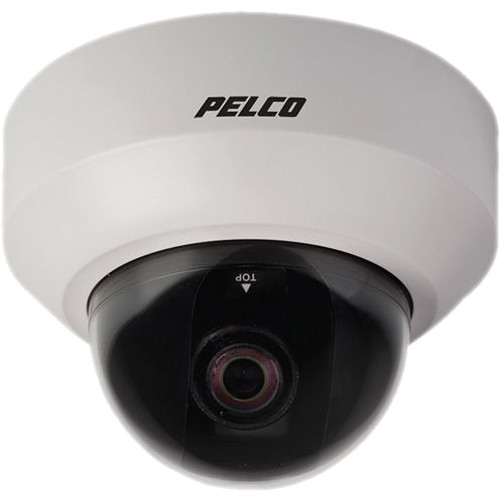 Pelco IS20-DWSV8SX Indoor Day/Night Camclosure 2 Camera System (PAL, White)