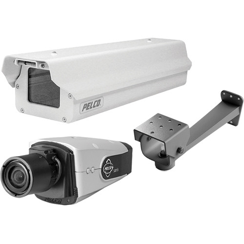 Pelco IXE10LW-8-EB-K IP WDR Day/Night Network Camera with SureVision