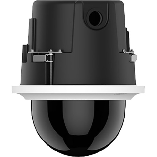 Pelco Spectra Professional Series P1220 PTZ Indoor In-Ceiling IP Dome Camera with 4.3 to 86 mm Lens (Smoked Bubble)