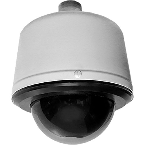 Pelco Spectra Enhanced S6220-PGL1US 1080p PTZ Network Pendant Dome Camera (Clear Bubble, Gray, Made in the USA)