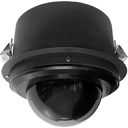 Pelco Spectra Enhanced 1080p Outdoor 30x PTZ Network Clear In-Ceiling Dome Camera with Heater (Black, Made in the USA)