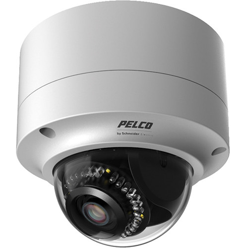 Pelco Sarix IMP Series IMP219-1ERS 2MP H.264 Environmental Surface-Mount Day/Night IR Mini-Dome IP Camera with 3-9mm Lens (Light Gray)