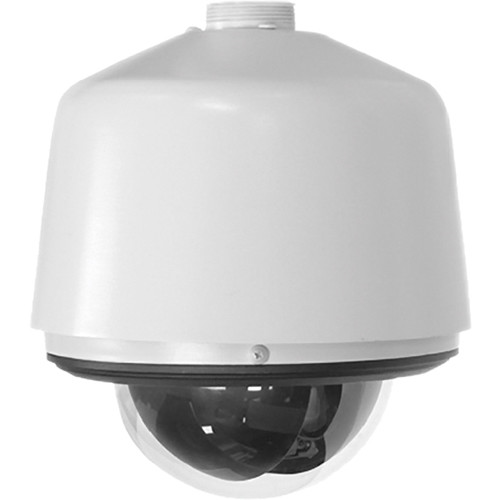 Pelco Spectra IV IP SD4E23-PG H.264 Indoor/Outdoor Day/Night PTZ Dome Camera System with Environmental Pendant Housing & Smoked Bubble (Light Gray, NTSC)
