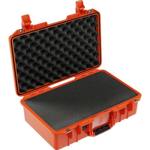Pelican 1485AirWF Hard Carry Case with Foam Insert (Orange)