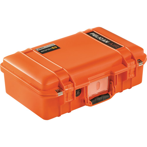 Pelican 1485AirNF Compact Hand-Carry Case (Orange, No Foam/Empty)