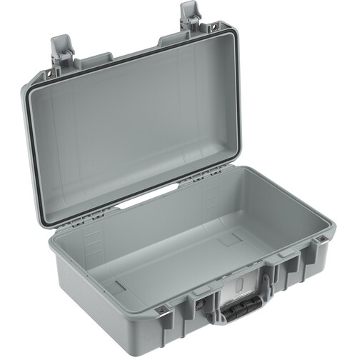 Pelican 1485AirNF Hard Carry Case with Liner, No Foam (Silver)