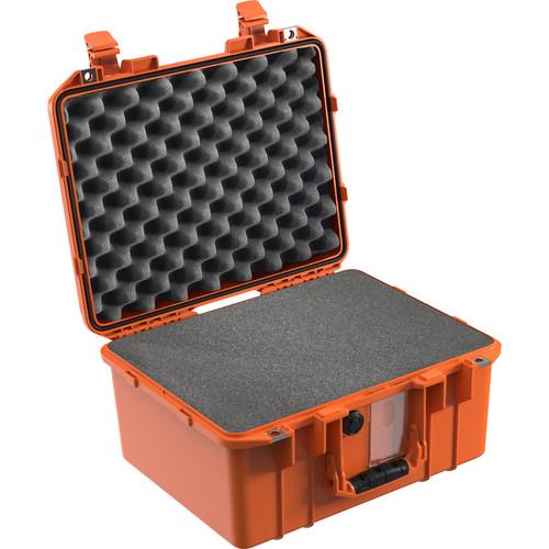 Pelican 1507WF Air Case with Pick-N-Pluck Foam (Orange)
