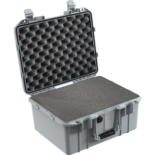 Pelican 1507WF Air Case with Pick-N-Pluck Foam (Silver)
