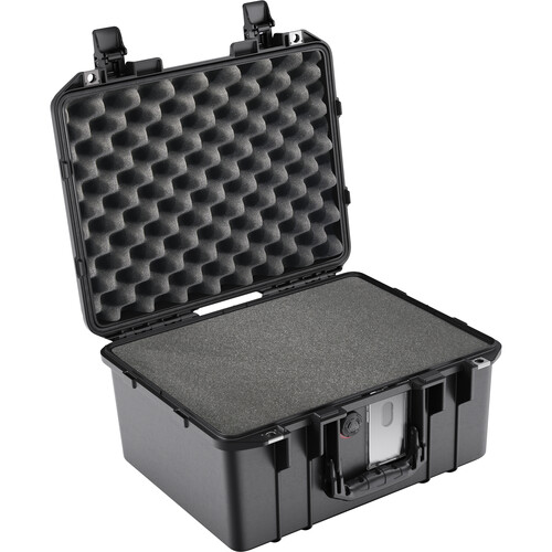 Pelican 1507AirWF Hard Carry Case with Foam Insert and Liner (Black)