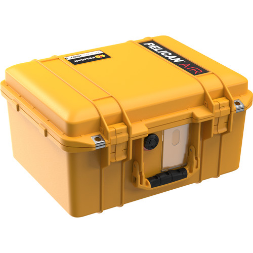 Pelican 1507NF Air Case without Foam (Yellow)