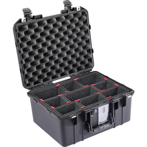 Pelican 1507TP Air Case with TrekPak Insert (Black)