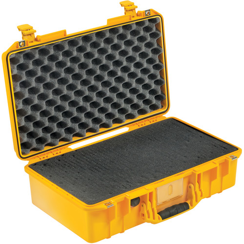 Pelican 1525 Air Carry-On Case with Pick-N-Pluck Foam (Yellow)