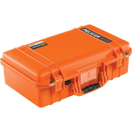 Pelican 1525 AirNF Carry-On Case (Orange, No Foam/Empty)