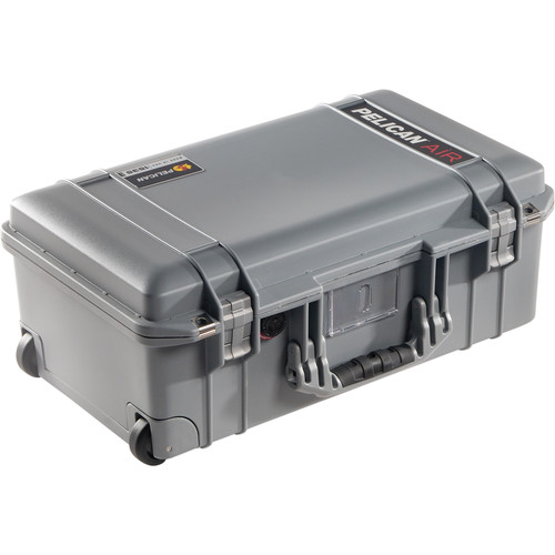 Pelican 1535 AirNF Wheeled Carry-On Case (Silver, No Foam/Empty)
