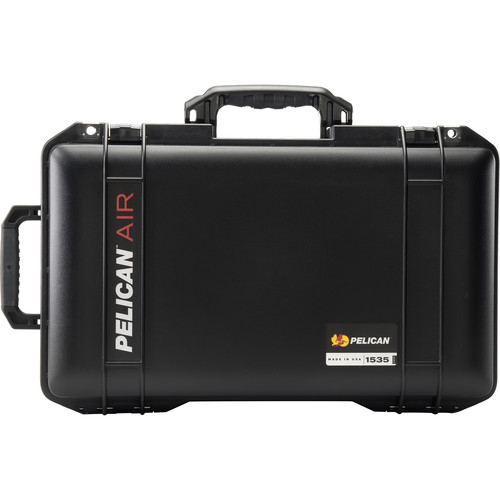 Pelican 1535AirNF 2017 Wheeled Carry-On Case (Black)