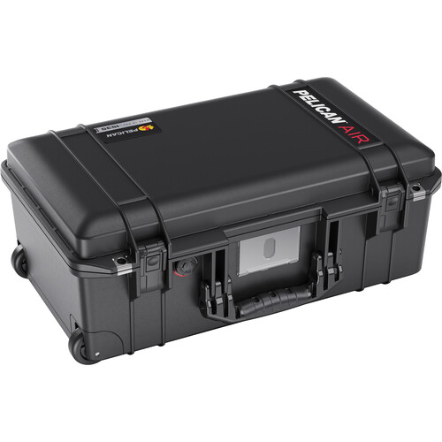 Pelican 1535AirTP Wheeled Carry-On Hard Case with TrekPak Divider Insert (Black)