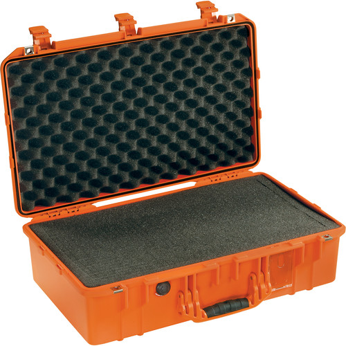 Pelican 1555Air Carry-On Case with Pick-N-Pluck Foam (Orange)