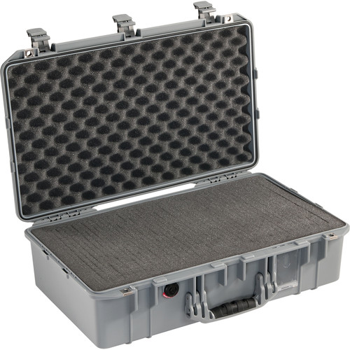 Pelican 1555Air Carry-On Case (Silver, Pick-N-Pluck Foam)