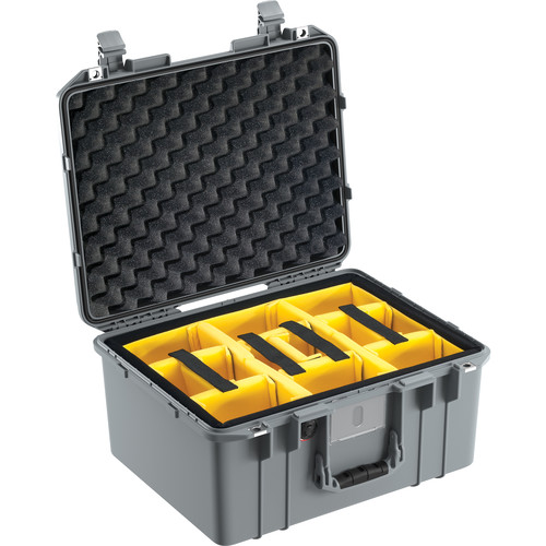 Pelican 1557 Air Case (Black, Padded Dividers)