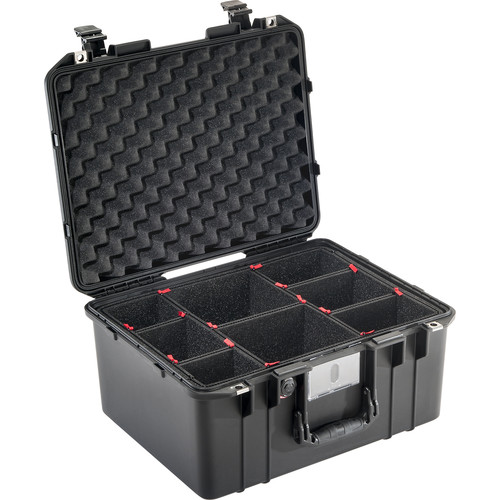 Pelican 1557 Air Case (Black, TrekPak Dividers)