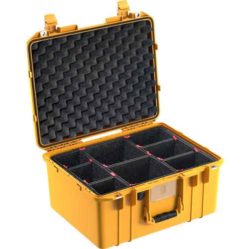 Pelican 1557 Air Case (Black, TrekPak Dividers)