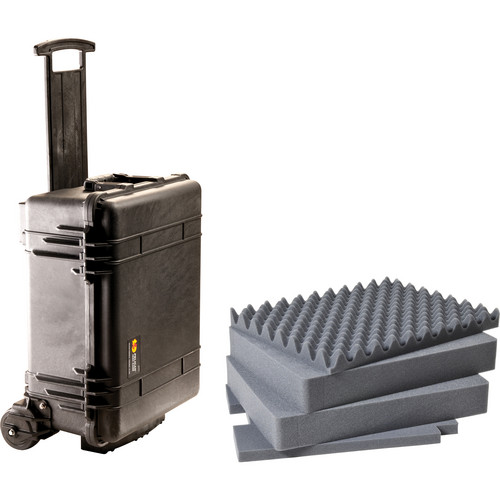 Pelican 1560M Case and Mobility Kit with Foam