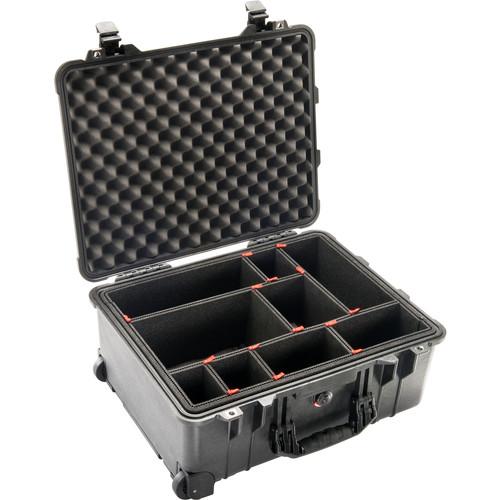 Pelican 1560TP Case with TrekPak Divider System (Black)